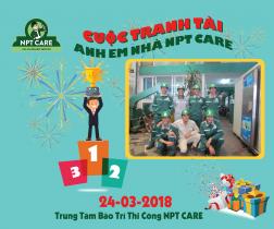 Cuộc thi tay nghề cho anh em nhà NPTcare