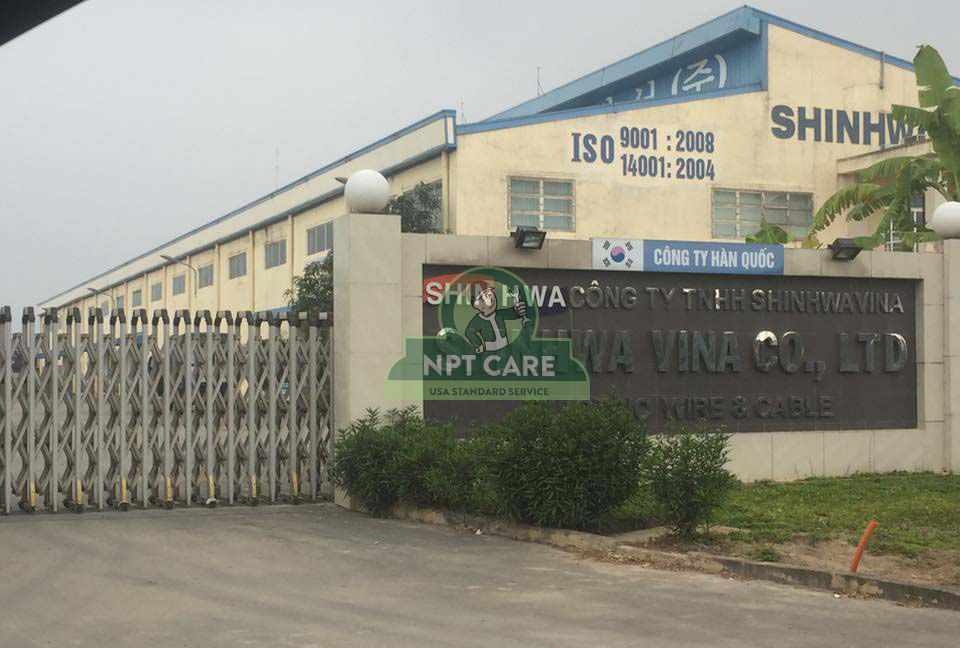 Dự án bảo trì Water Chiller tại nhà máy sản xuất dây điện Shinwa vani Bắc Ninh 6