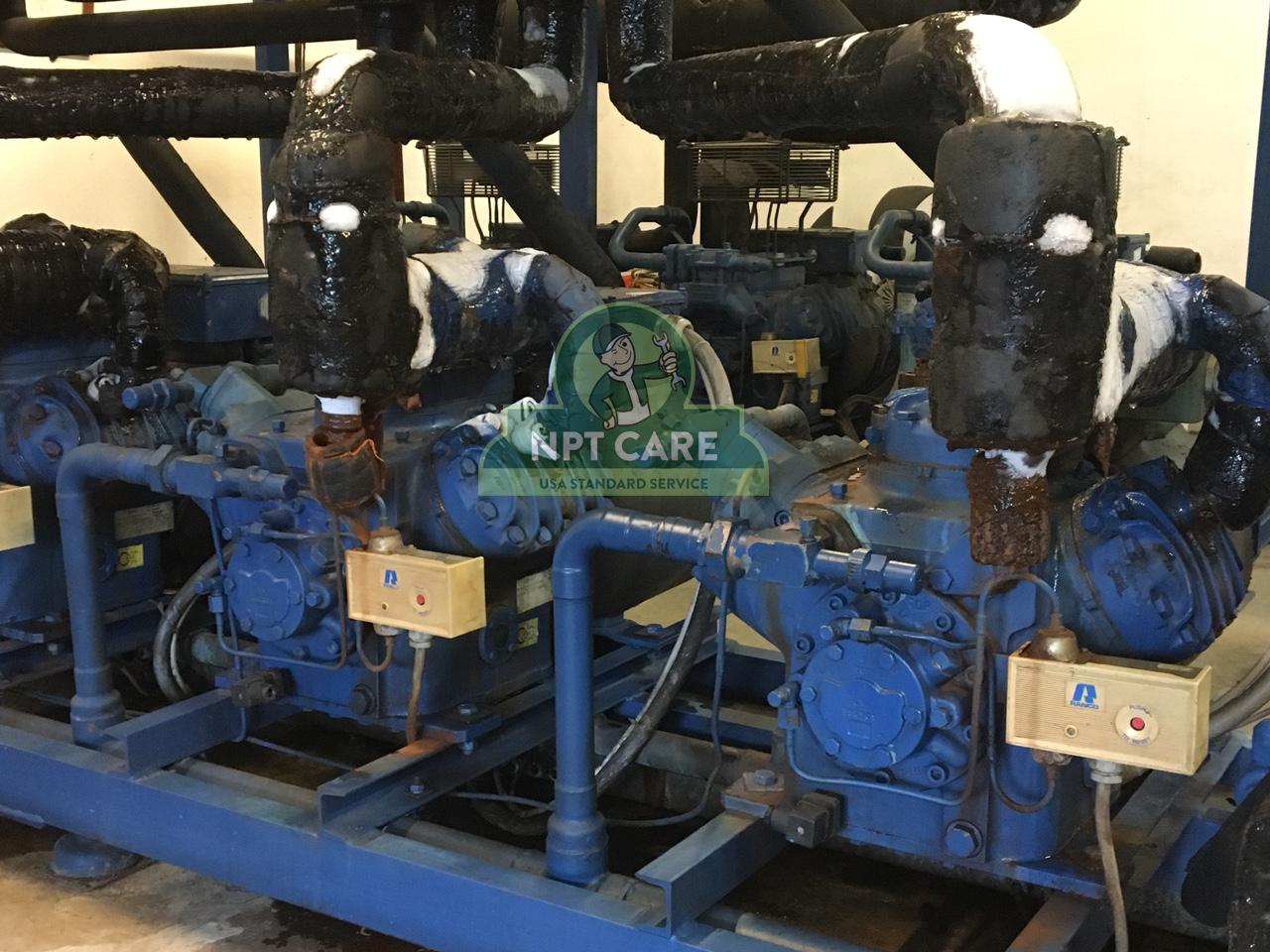 Khảo sát và lên phương án bảo trì hệ thống lạnh công nghiệp MM MEGA MARKET tại Hà Nội 3