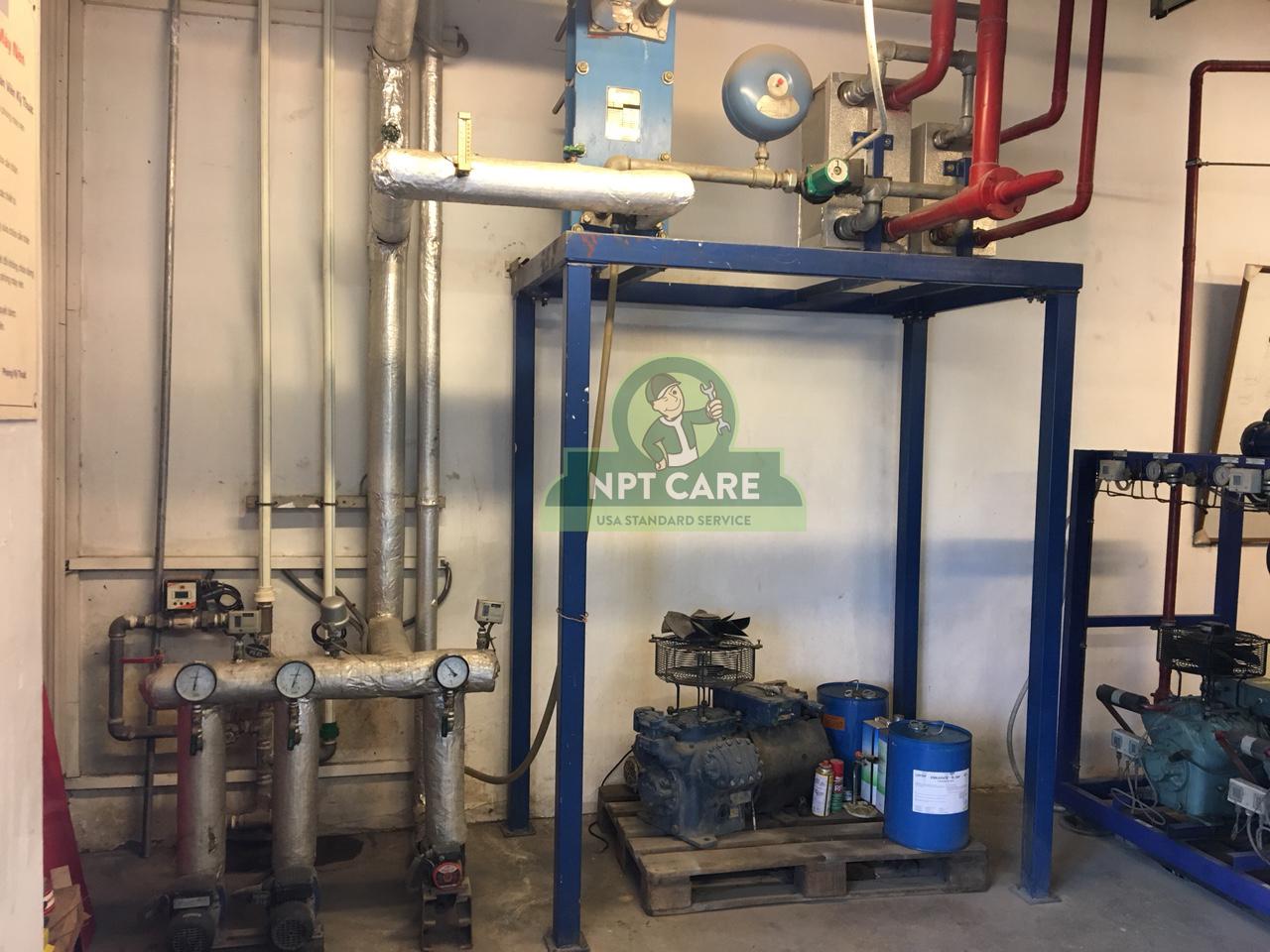 Khảo sát và lên phương án bảo trì hệ thống lạnh công nghiệp MM MEGA MARKET tại Hà Nội 7
