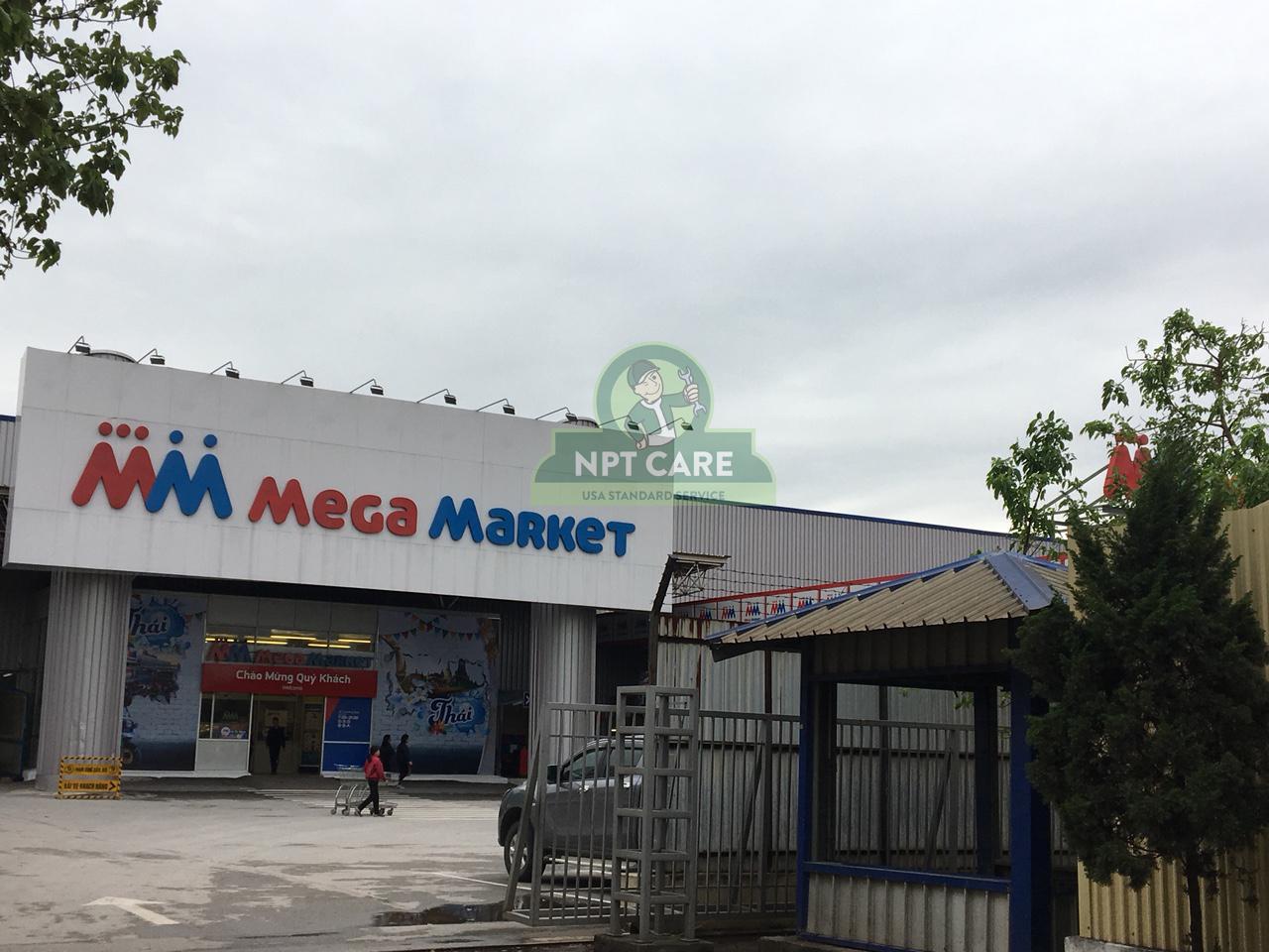 Khảo sát và lên phương án bảo trì hệ thống lạnh công nghiệp MM MEGA MARKET tại Hà Nội