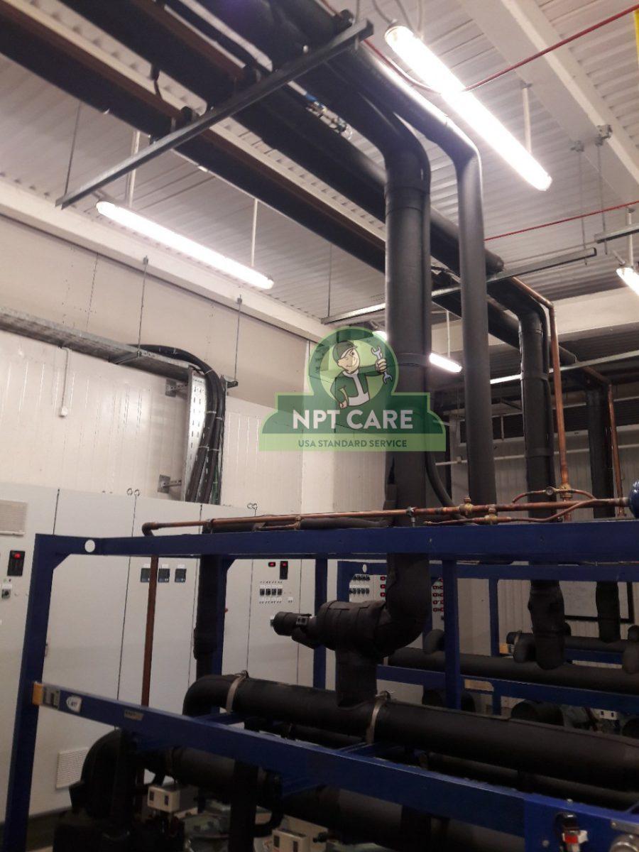 Khảo sát và lên phương án bảo trì hệ thống lạnh công nghiệp MM MEGA MARKET tại Nghệ An