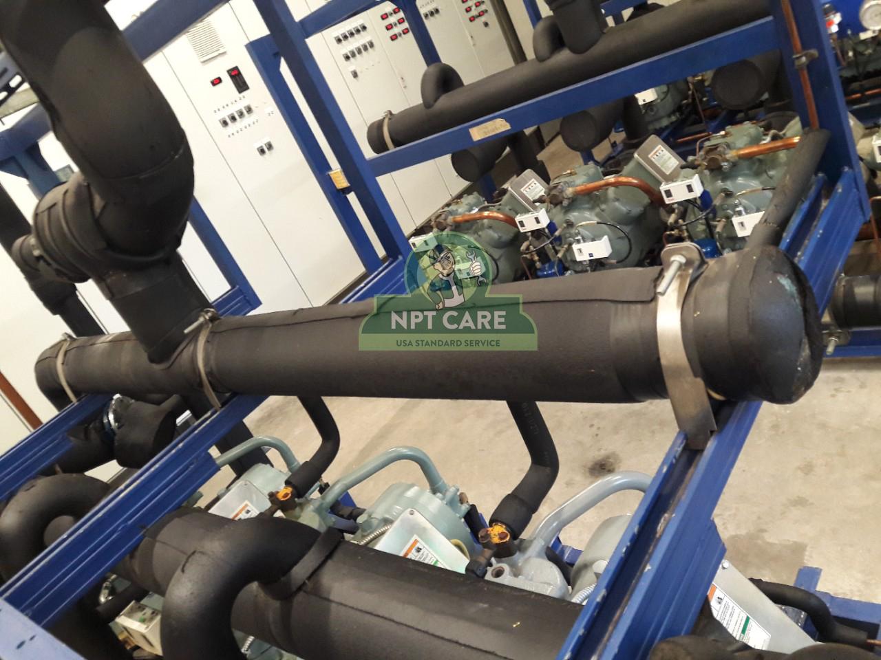 Khảo sát và lên phương án bảo trì hệ thống lạnh công nghiệp MM MEGA MARKET tại Nghệ An 3