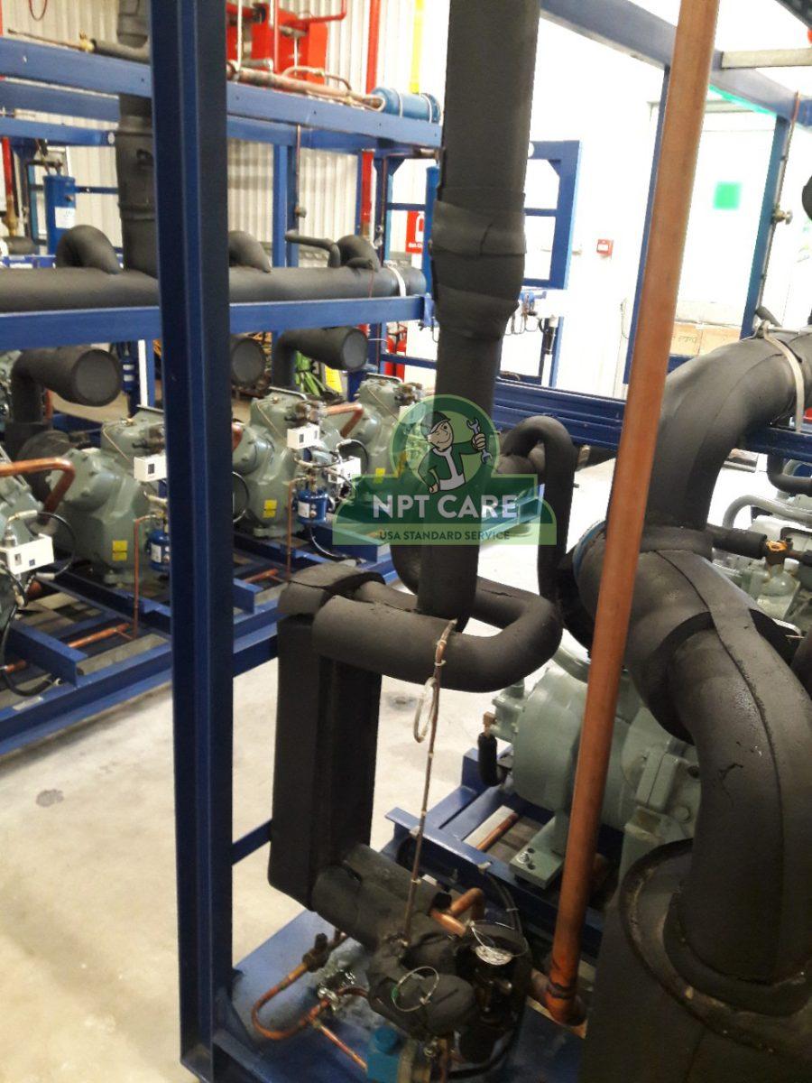 Khảo sát và lên phương án bảo trì hệ thống lạnh công nghiệp MM MEGA MARKET tại Nghệ An 5