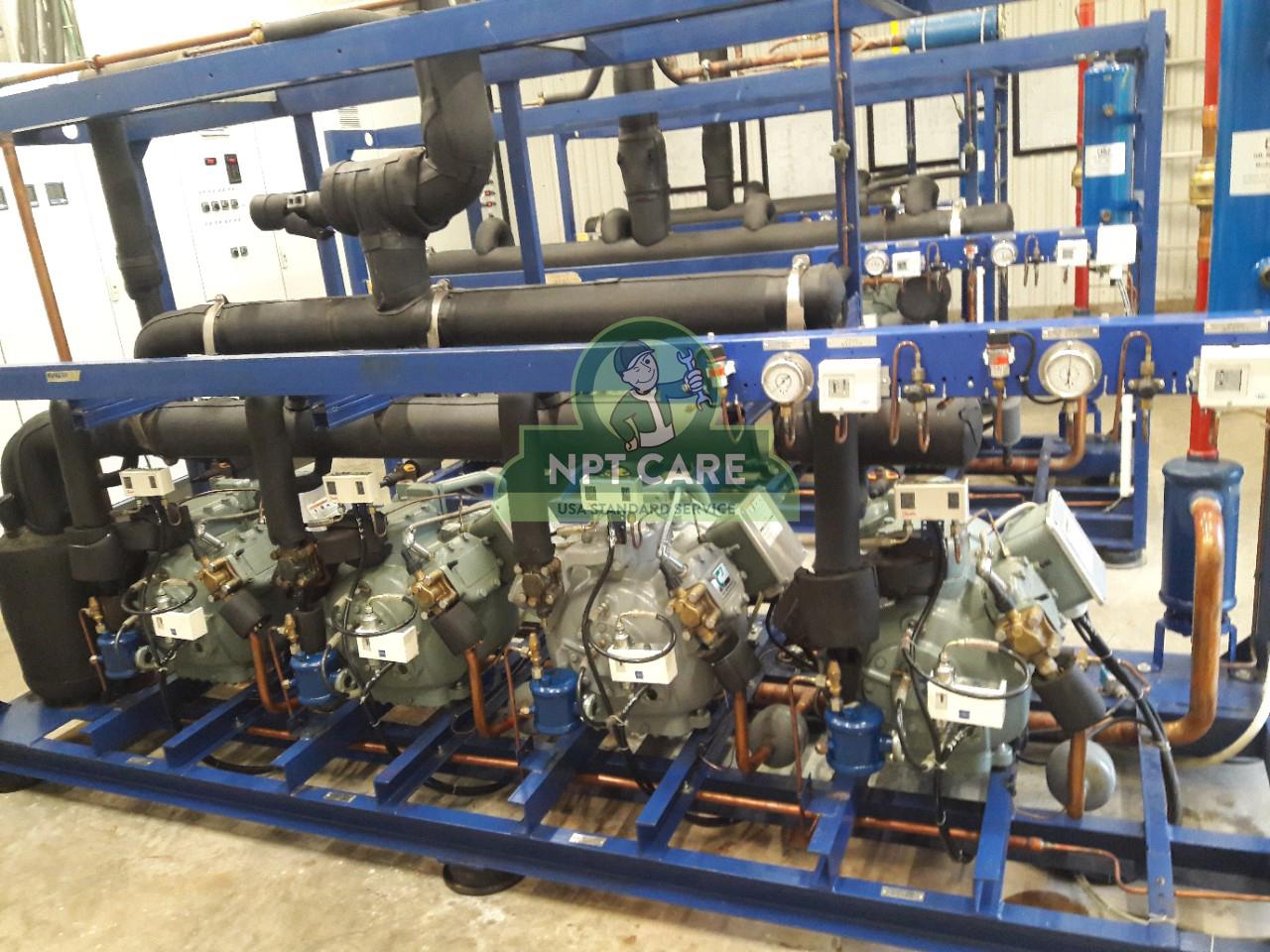 Khảo sát và lên phương án bảo trì hệ thống lạnh công nghiệp MM MEGA MARKET tại Nghệ An 7