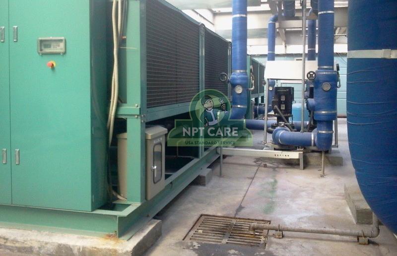 Sửa chữa hệ thống điều hòa công nghiệp Công ty TNHH INTOPS VIETNAM 3