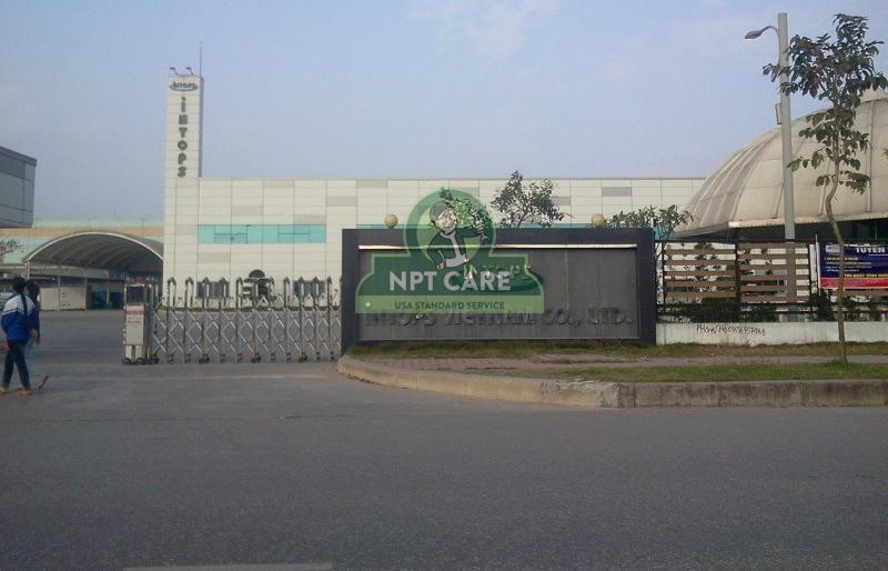 Sửa chữa hệ thống điều hòa công nghiệp Công ty TNHH INTOPS VIETNAM