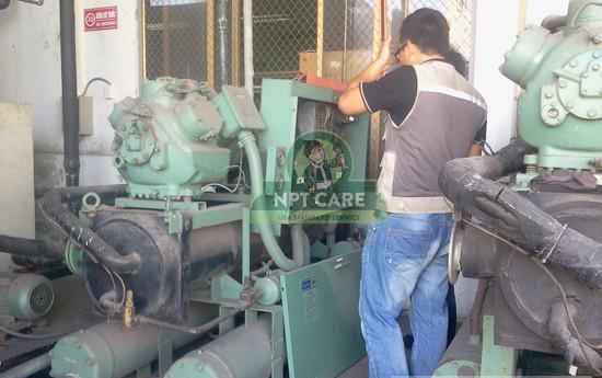 Dự án Sửa chữa hệ thống làm lạnh nước Carrier water chiller tại nhà máy Geshen - Hải Dương 8