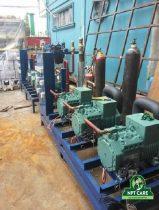 Cách xử lý sự cố áp suất nén quá cao của hệ thống lạnh