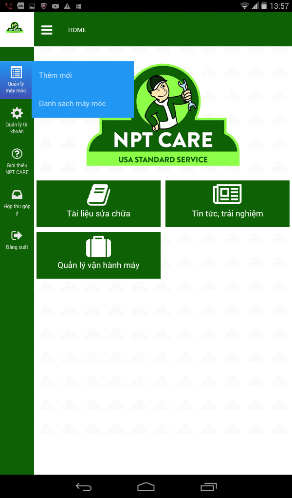 Phần mềm quản lý NPTCare
